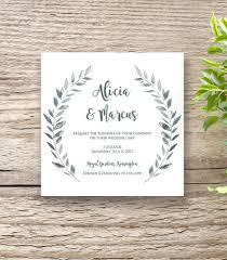 rustic wedding invites rustic printable wedding invitation template set connie joan