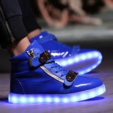 light up tennis shoes for adults glow bambas luminous basket tenis led simulation high top trainer