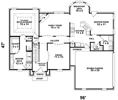 Georgian Style Home Plans Georgian Style House Plans Plan 6 458
