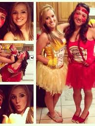 Cheap Halloween Costumes Girls 25 Ketchup Costume Ideas Funny Fancy Dress