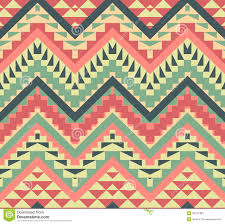 seamless colorful aztec pattern stock photography image 36421382