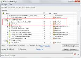 install android sdk java install android target 19 the android newest sdk