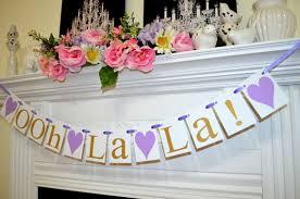 ooh la la bridal shower decorations wedding garland lingerie