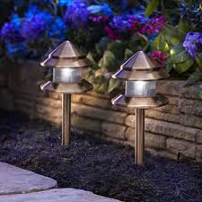 amazing of outside garden lights electric discount outdoor solar