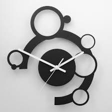horloge a personnaliser horloge murale pendule murale design cercles