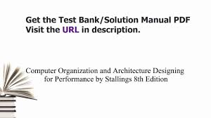 practice test bank for computer organization and architecture