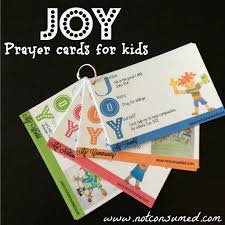 teaching our kids to pray joy prayer cards giveaway u2014 everyday truth