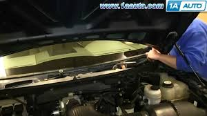 how to install replace fix windshield wiper transmission 2004 08