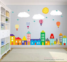 Wall Decals For Nursery City Wall Decals Wall Decals Nursery Nursery Wall Decal