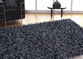 All Modern Area Rugs Grey With Black High Quality Shag Rug By Addiction Regarding Area