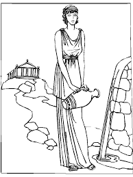 ancient greece coloring pages kids coloring