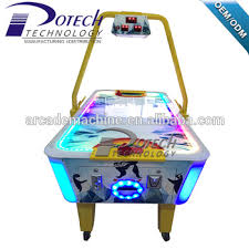 used coin operated air hockey table coin operated amusement air hockey arcade game machine indoor sports