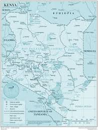 Detailed Map Of Africa by Maps Of Kenya Map Library Maps Of The World