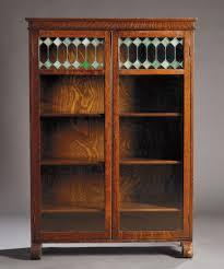 glass door bookcase antique fleshroxon decoration