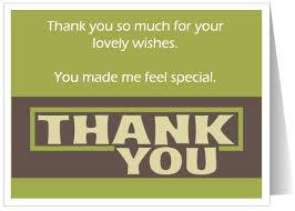 30 thank you notes for birthday wishes
