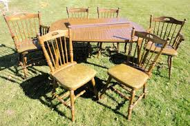find more kitchen table 6 chairs made by richardson brothers