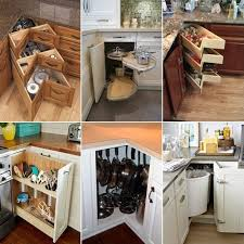 Clever Kitchen Ideas Clever Kitchen Corner Cabinet Storage And Organization Ideas