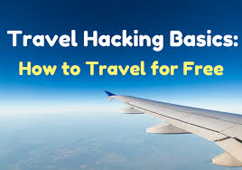 travel hacking images Travel hacking basics how to travel for free png
