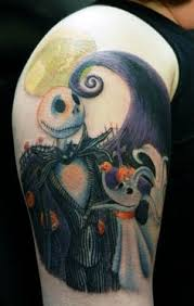 the nightmare before tattoos