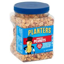 planters peanuts cocktail party size 35 oz 992g walmart com