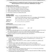 Network Administrator Skills Resume Nice Example Of Network Administrator Resume For Job Vacancy