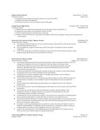 substitute resume exle book reports review ideas special needs educator