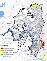 Austin Zoning Map by District 10 Watershed Profile Watershed Protection Austintexas