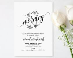 wedding brunch invitation wording day after post wedding brunch invitations weareatlove