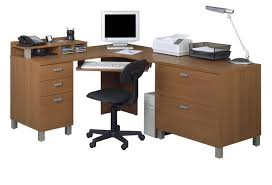 Solid Wood Computer Desk With Hutch by Office Table Wood Computer Desk With Bookcase Dark Wood Computer