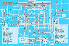 map of xi an xian city guide xian travel experts absolute china tours china