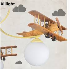 Airplane Ceiling Light Modern Airplane Led Ceiling Light Children Bedroom Ceiling Lamp