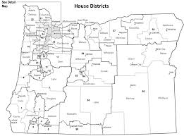 oregon blue book representative district maps