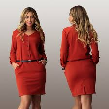 aliexpress com buy elegant office work dress 2016 spring v neck
