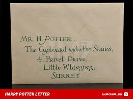 harry potter u0027s hogwarts acceptance letter up for auction tmz com