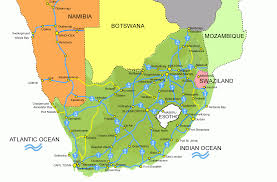 South Africa World Map Maps Of South Africa