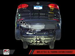 awe tuning mk6 jetta 2 5l exhaust suite awe tuning
