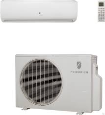 ductless mini split concealed friedrich mini split air conditioners
