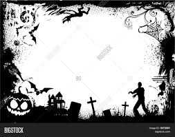 halloween border frame stock vector u0026 stock photos bigstock