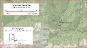 Opal Creek Oregon Map The Redwood Nature Trail