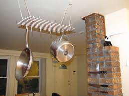 pot and pan hanger diy hanger inspirations decoration