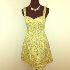 58 off free people dresses u0026 skirts free people yellow daisy