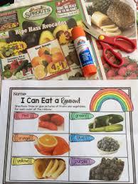 clean eating meal plans beginners rainbow activities free