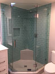 neo angle frameless shower door y9 inc