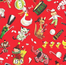 vintage christmas wrapping paper vintage christmas gift wrap ambassador parade david