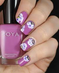 nail art remarkable nail art photo concept lavender blossom