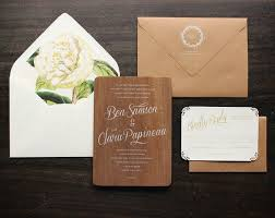 wooden wedding invitations best 25 wood invitation ideas on wood wedding