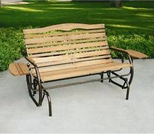 Lifetime Glider Bench Wooden U0026 Metal Gliders Benches Ebay