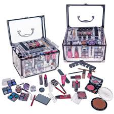 shany carry all trunk makeup cosmetic gift set ebay