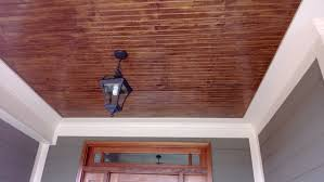 patio ceiling ideas staining tongue and groove porch ceiling www energywarden net