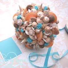 seashell bouquet seashell bouquet bouquet chic